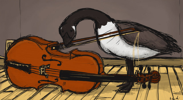 Cello Goose