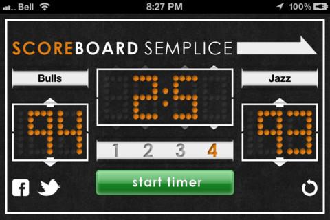Scoreboard Semplice